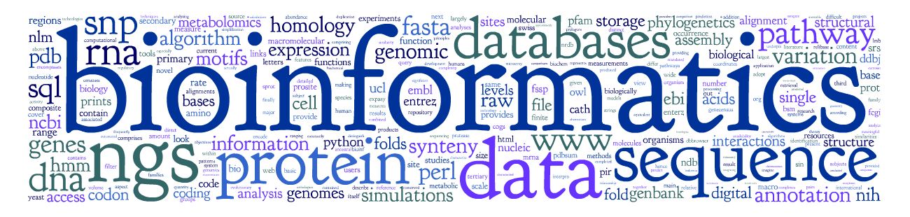 Popular Bioinformatics Books for Understanding Biological Data