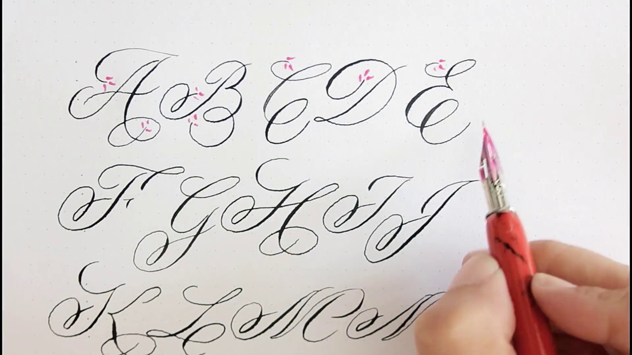 Best Calligraphy books to learn hand-lettering and modern calligraphy