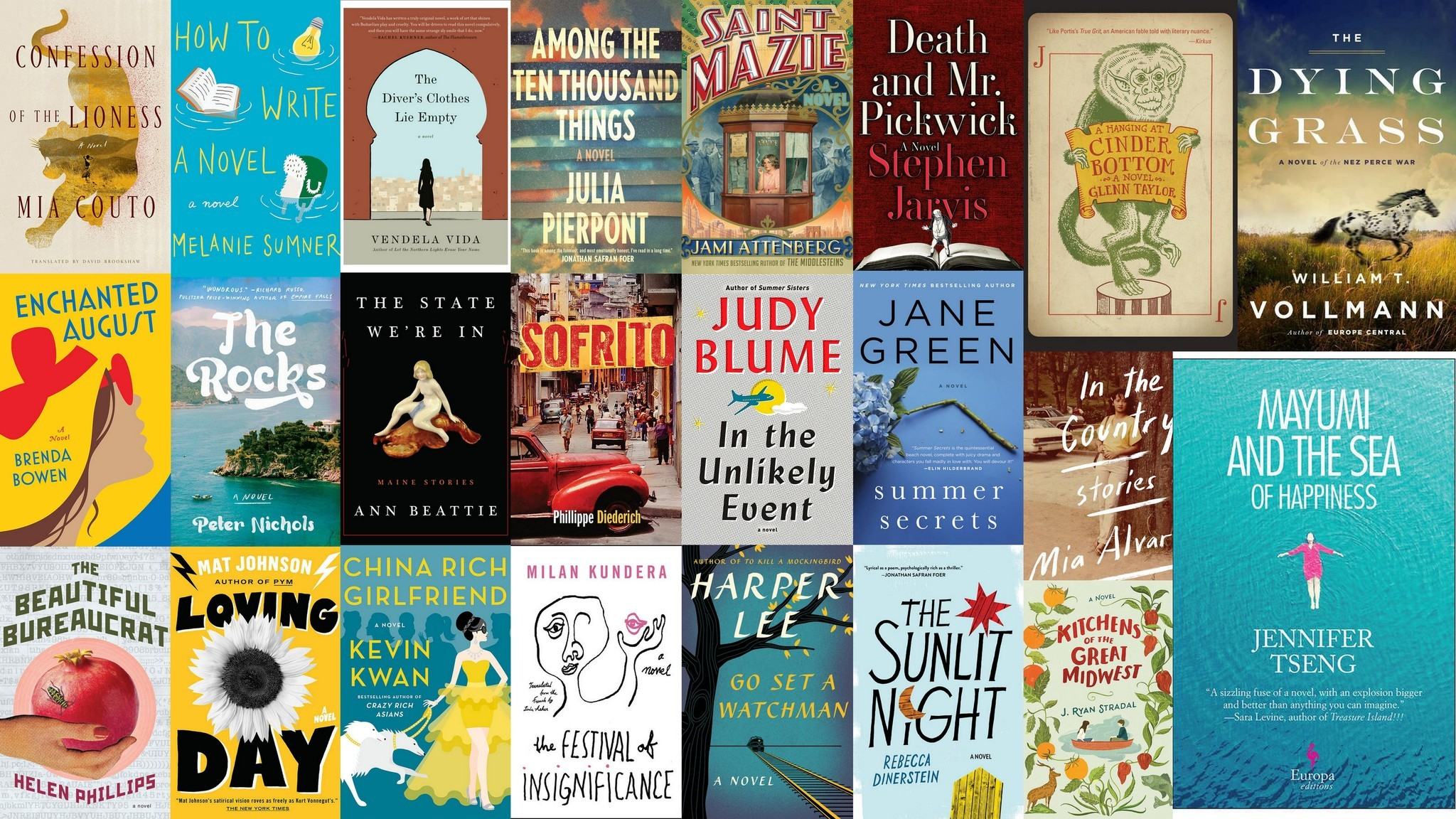 Top 10 Best Novels to Read in 2019 at Your Pastimes