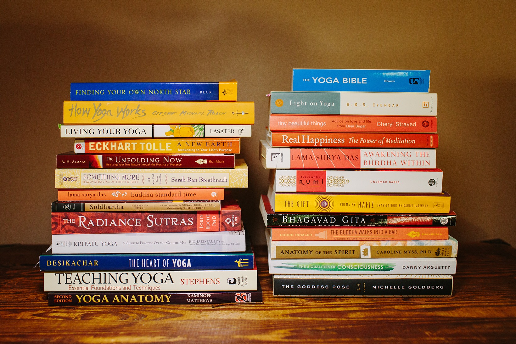 best yoga books