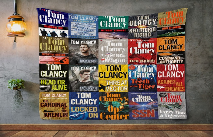 Best Tom Clancy Books for Military Action Novel Lovers