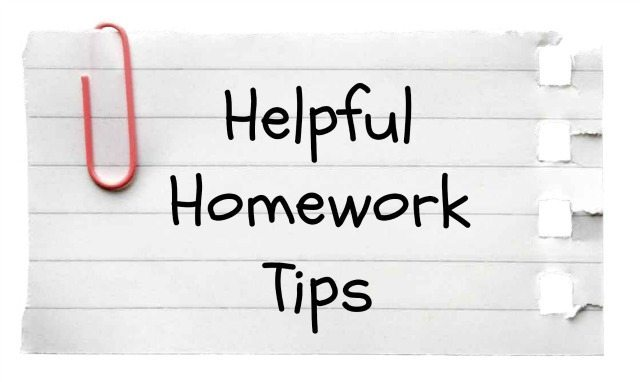 Useful Homework Tips for Students
